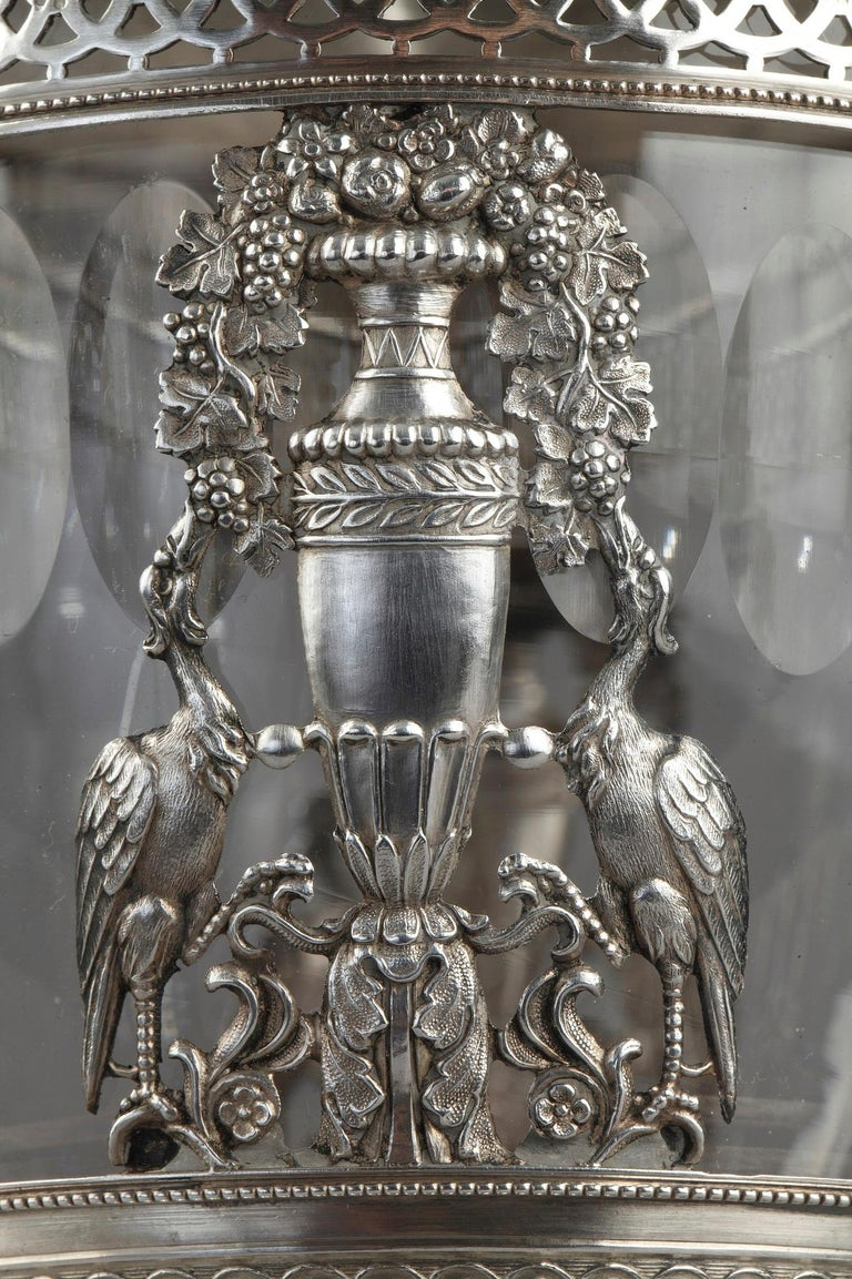 Silver Candy Dish, Restauration Period In Good Condition For Sale In Paris, FR