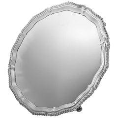 Silver Circular Shaped Salver