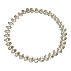 Silver Collier from Stigbert, Sweden, 1970s