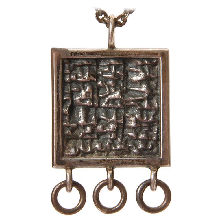 Silver Craft Necklace