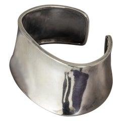 Silver Cuff by Claës Giertta, Sweden, 1959