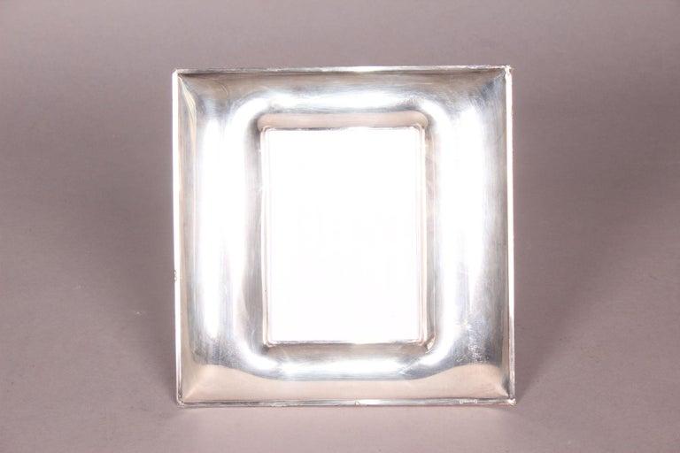 Mid-20th Century Silver De Vecchi Picture Frame For Sale