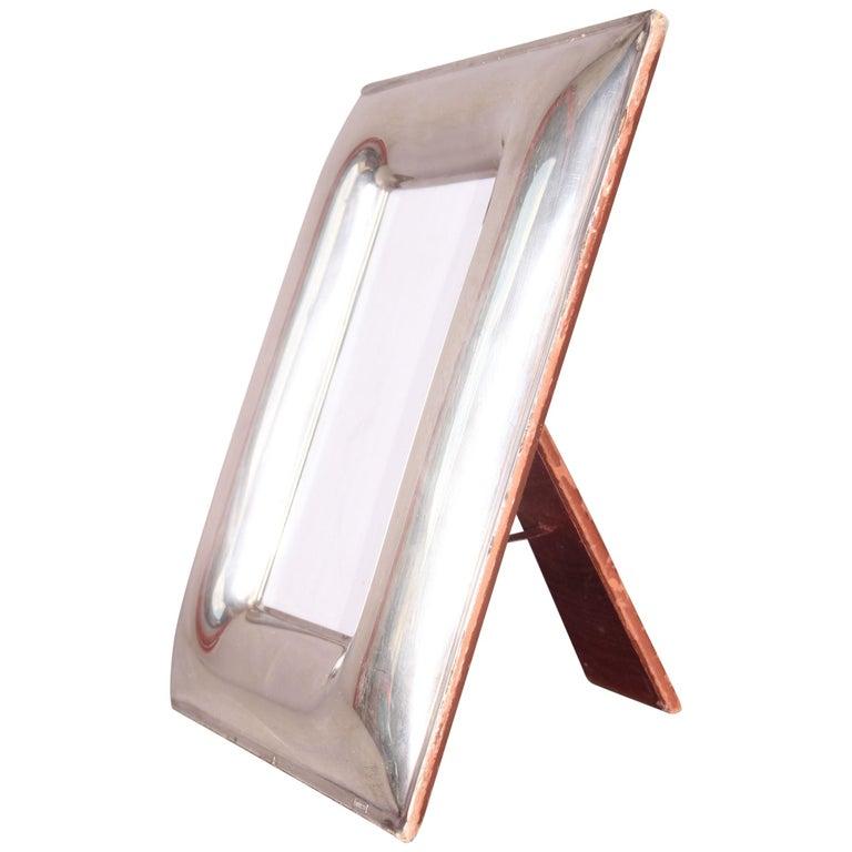 Silver De Vecchi Picture Frame For Sale