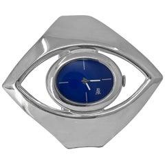 Silver Eye Watch