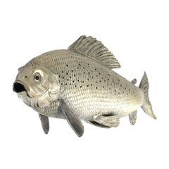 Silver Fish Grayling handicraft
