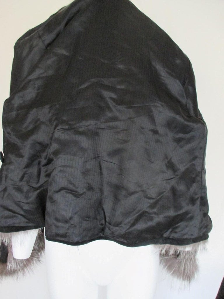 Silver Fox Fur jacket  For Sale 3