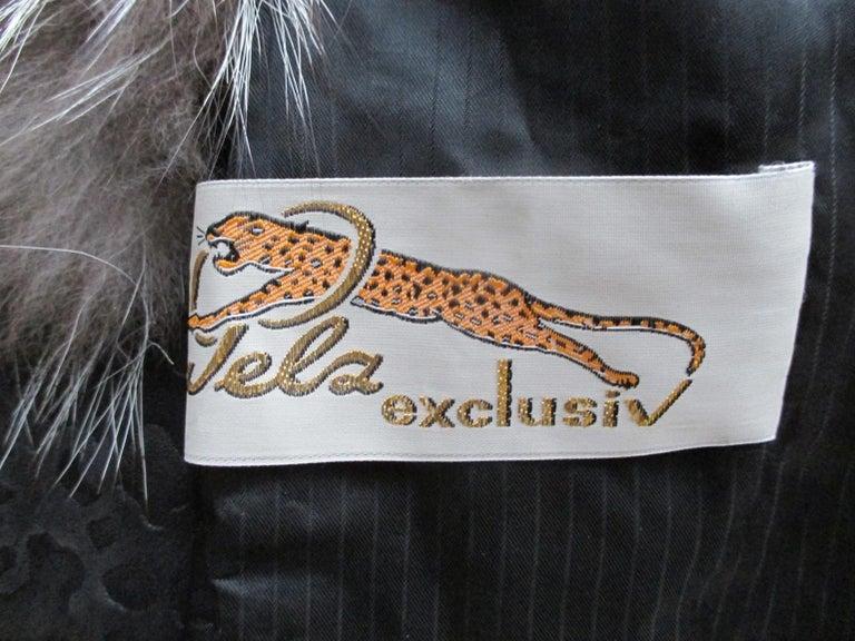 Silver Fox Fur jacket  For Sale 4