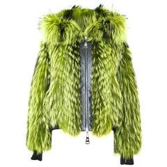 Helen Yarmak Silver Fox Jacket