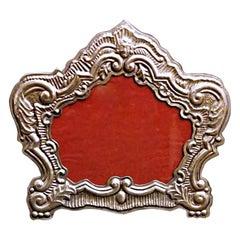 Silver Frame in 18th Century Venetian Style Production Bucintoro, 1970