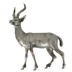 Silver Gazelle handicraft