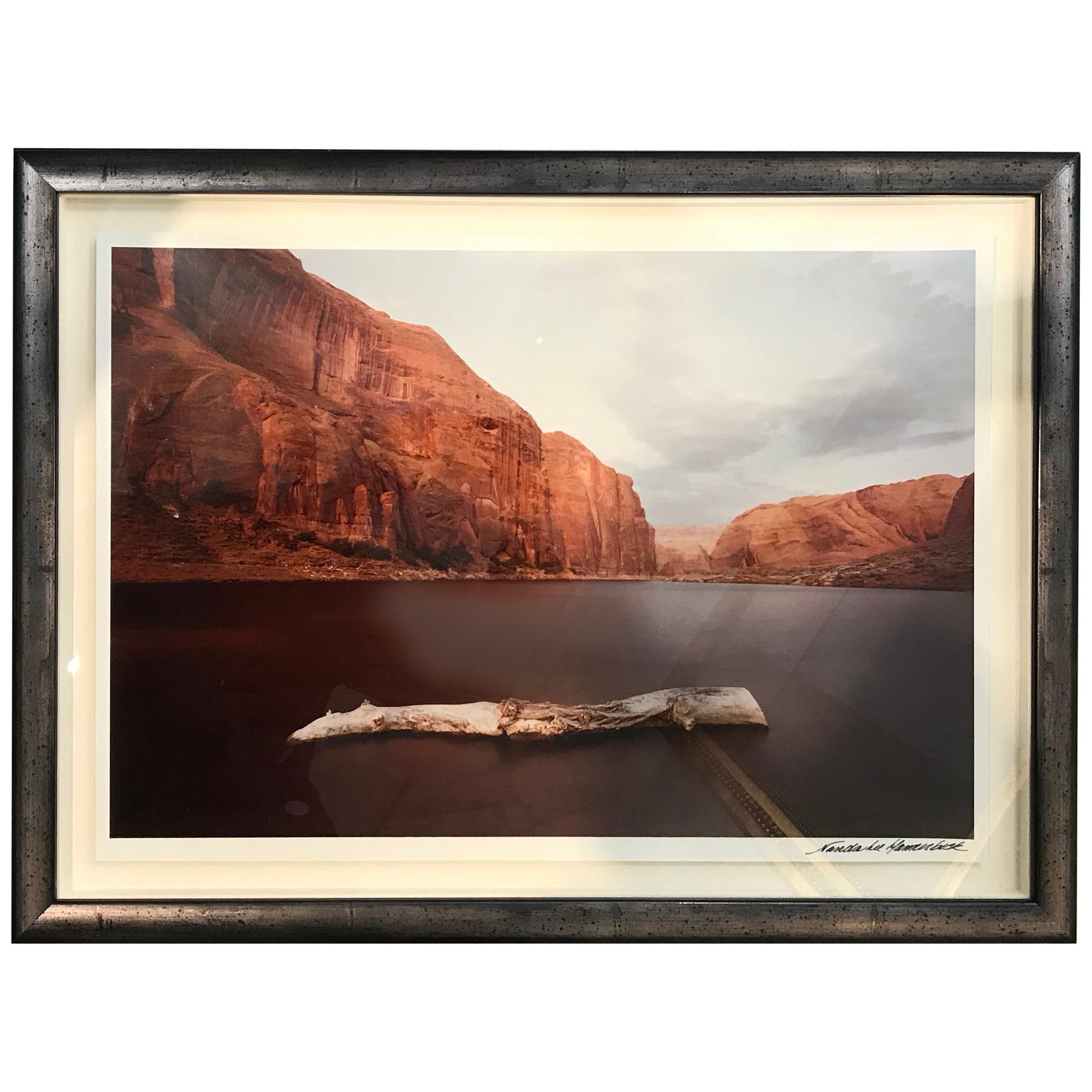 Silver Gelatin Photograph of Red Cliffs