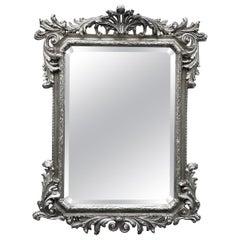 Silver Gilded Mirror by Decorative Arts Studio