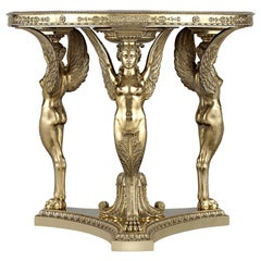 Silver-Gilt Exhibition Tea Table by Maison Aucoc