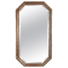 Silver Gilt Octagonal Beaded Mirror