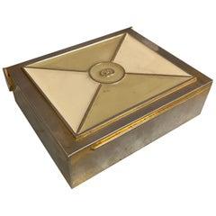 Silver Gucci Box, Italy, 1970s