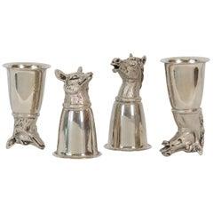 Silver Gucci Stirrup Cups