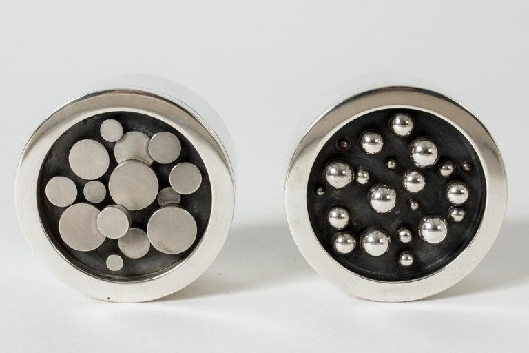 Silver Jar from Atelier Borgila For Sale 1