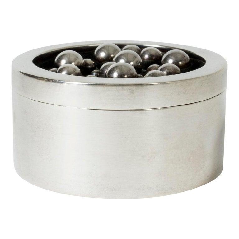Silver Jar from Atelier Borgila For Sale