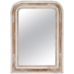 Silver Leaf Louis Philippe Period Mirror
