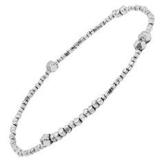 Silver Mix Beaded Bracelet by Allison Bryan