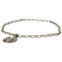 Silver Necklace by Sven-Erik Högberg, Sweden, 1974