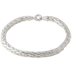 Silver Palm Link Neacklaces 227 Grams