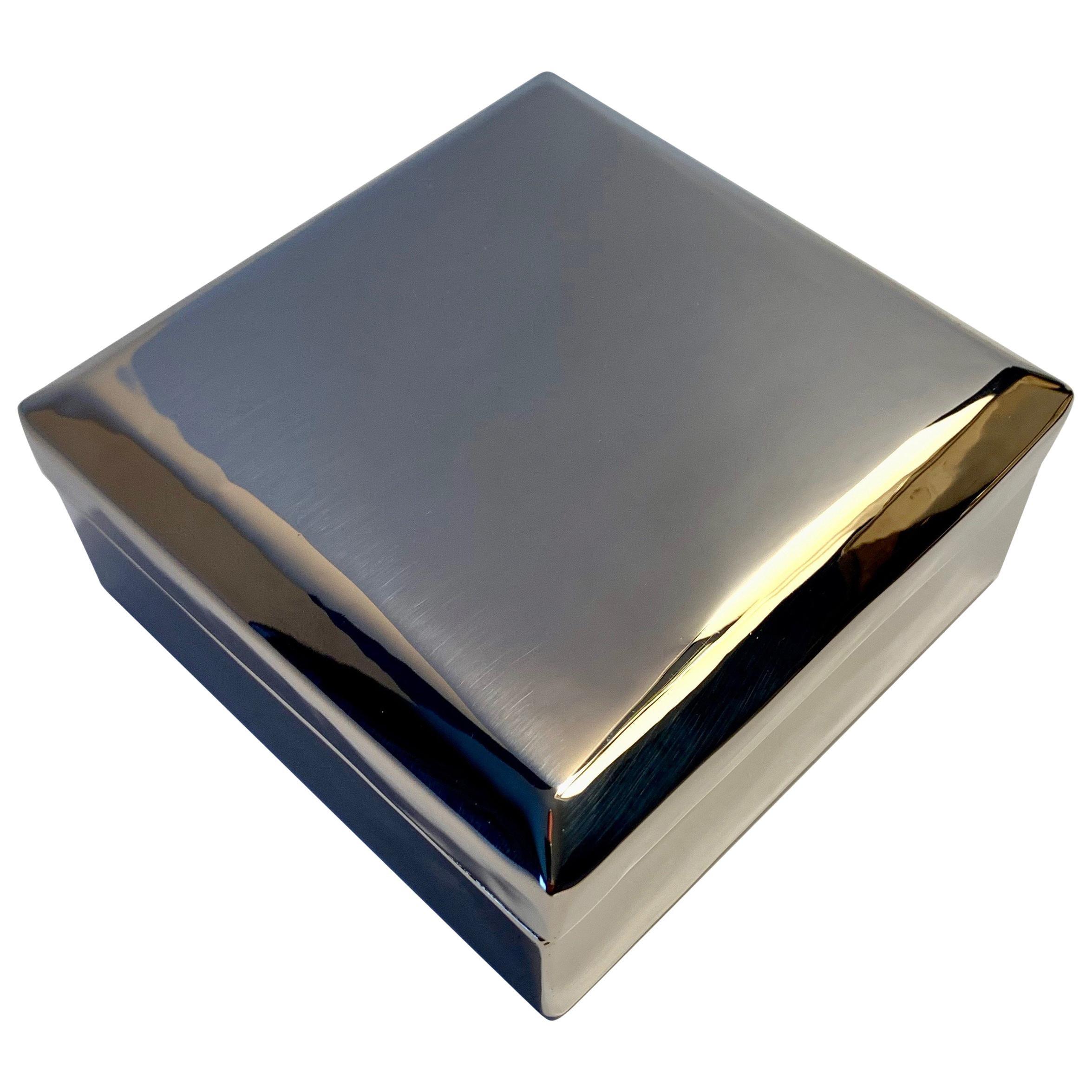 Silver Plate Box