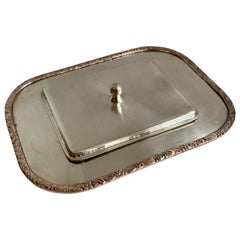 Silver Plate Card Holder