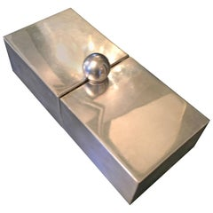 Silver Plate Dual Purpose Collapsible Box
