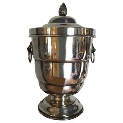 Silver Plate English Ice Bucket