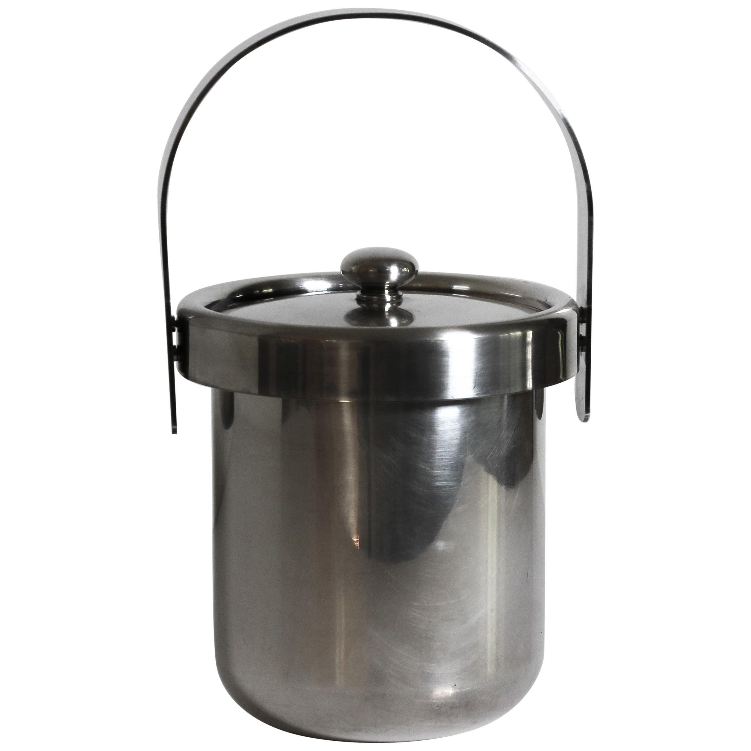 Silver Plate Italian Ice Bucket by Argente 1960s