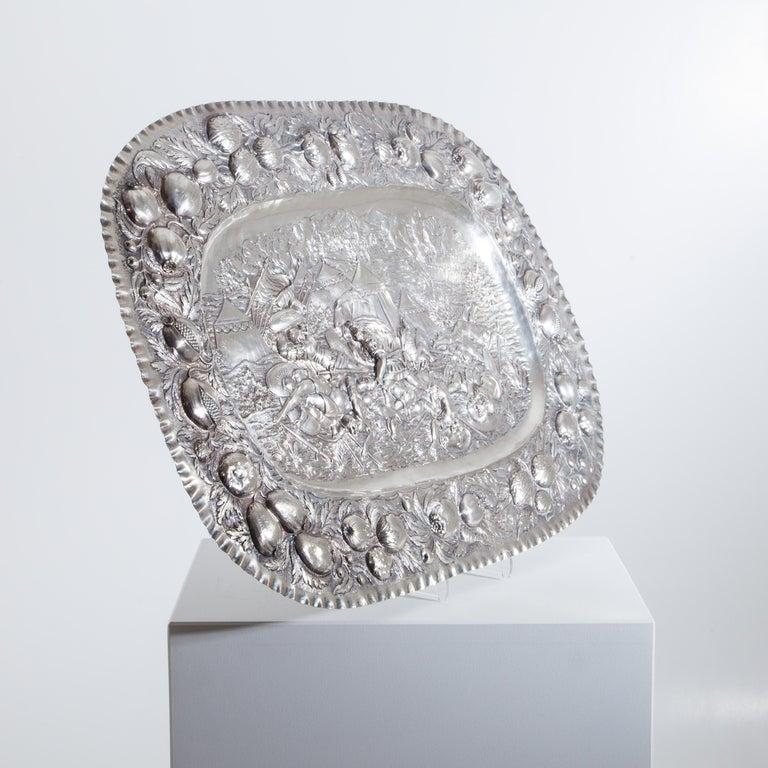 Silver Plate, J. D. Schleissner & Söhne, Hanau, circa 1890 For Sale 3