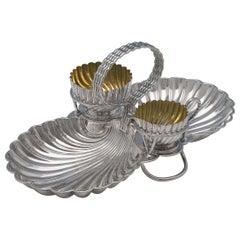 Silver Plate Strawberry Dish