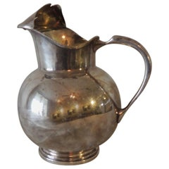 Silver Plated Argentinian Water Carafe Stamped