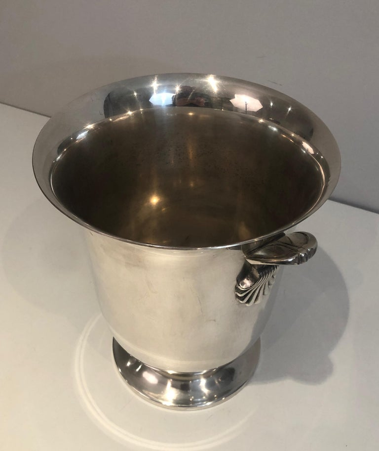 Silver Plated Champagne Bucket, French, Circa 1930 For Sale 8