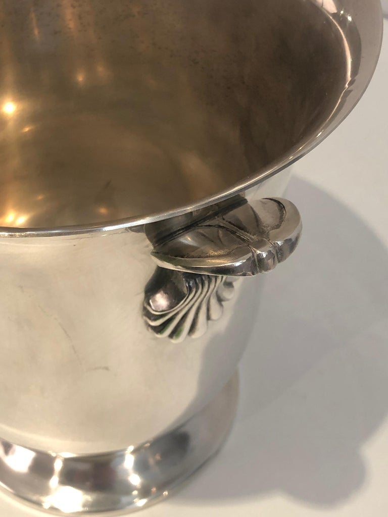 Silver Plated Champagne Bucket, French, Circa 1930 For Sale 1