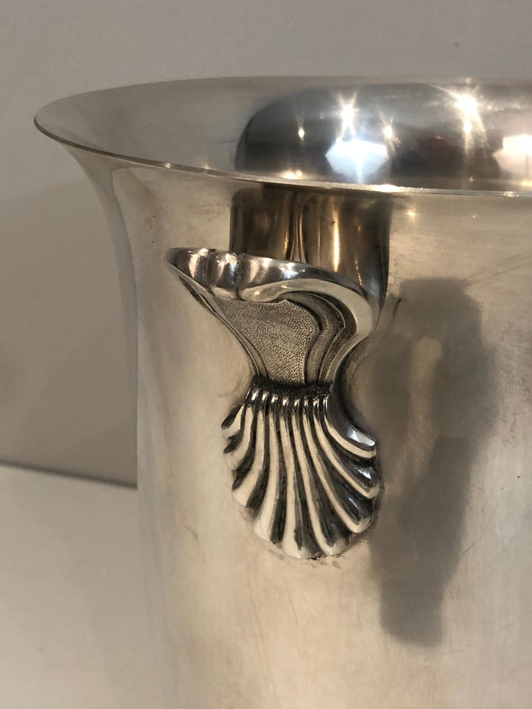 Silver Plated Champagne Bucket, French, Circa 1930 For Sale 2