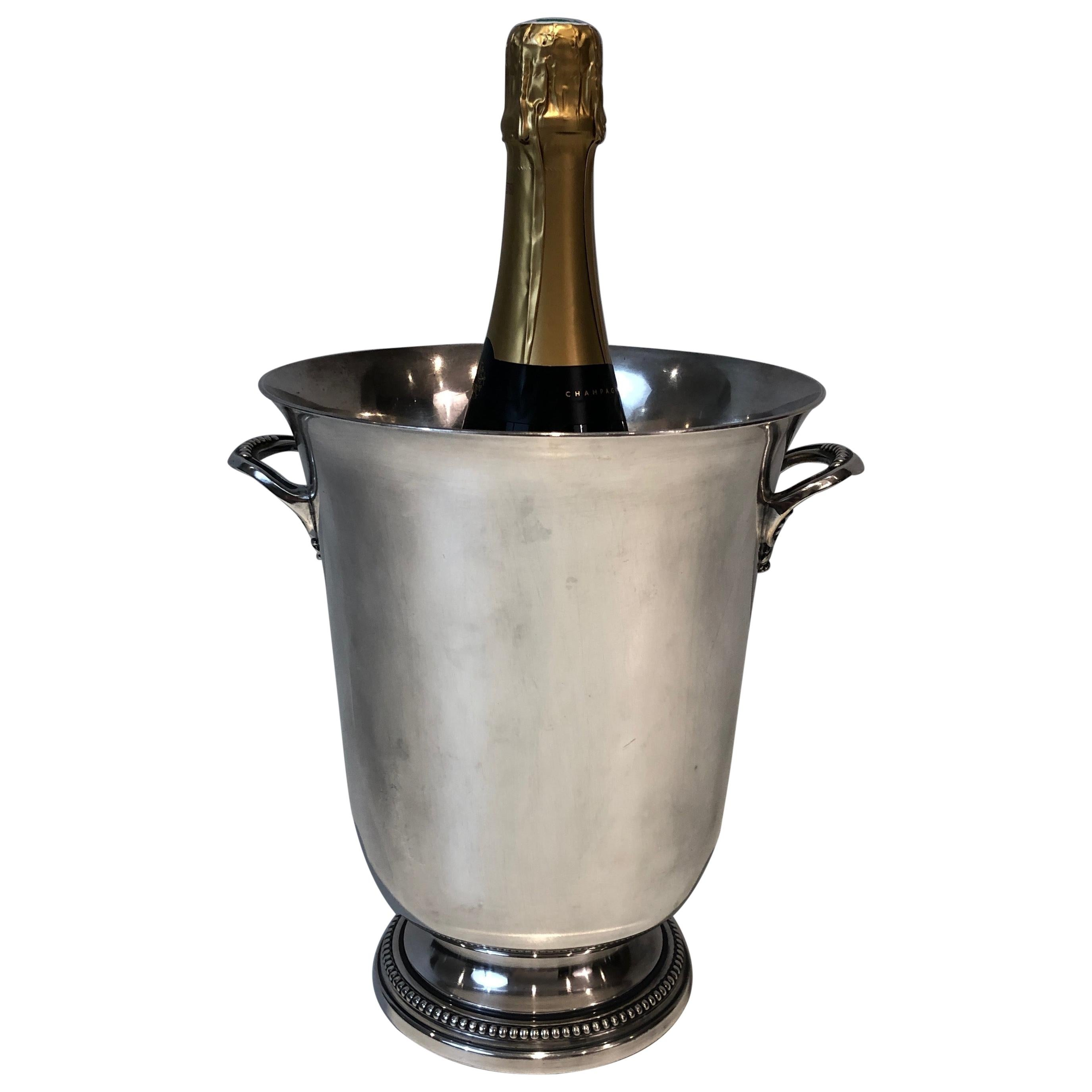 Silver Plated Champagne Bucket, French, Circa 1930