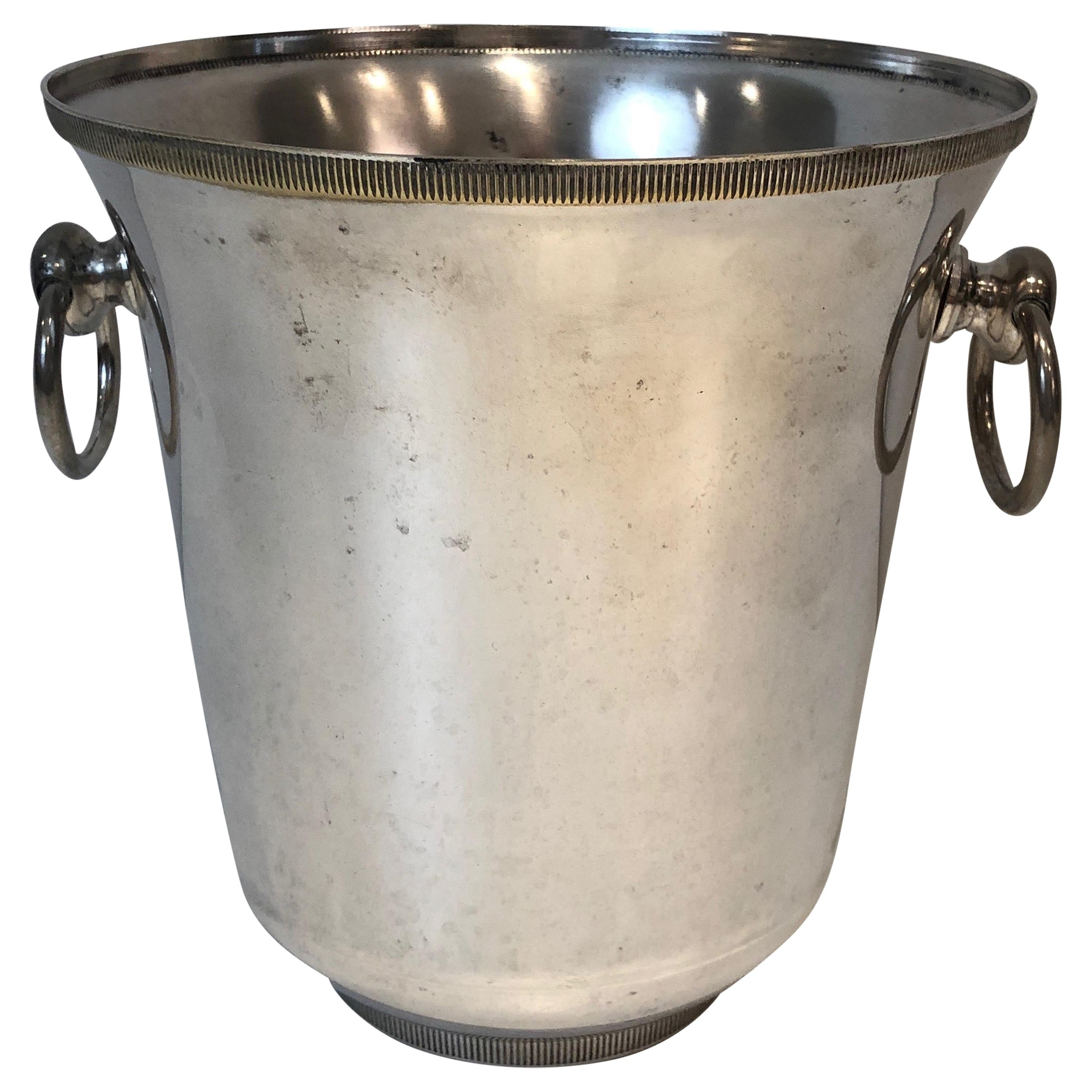 Silver Plated Champagne Bucket, French, circa 1940