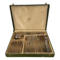 Silver Plated Cutlery Set Apollo/ Maison Christofle, 1920, France