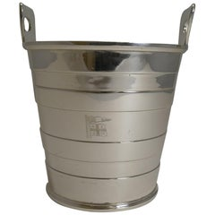 Silver Plated Ice Bucket by Mappin and Webb, New Zealand Shipping Co.