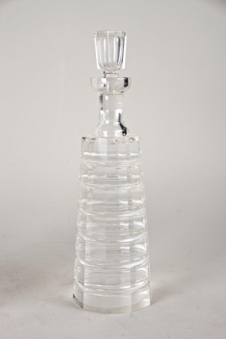 Silver Plated Three Glass Bottle Tantalus Lockable, Austria, circa 1890 3