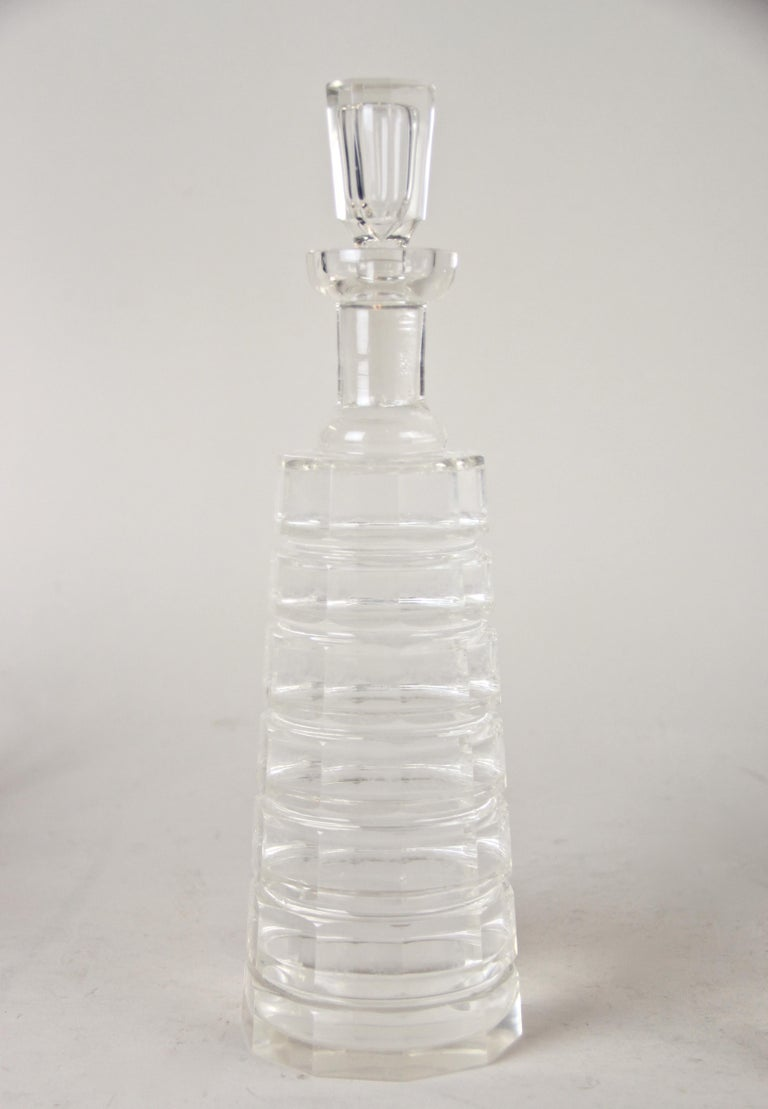 Silver Plated Three Glass Bottle Tantalus Lockable, Austria, circa 1890 5