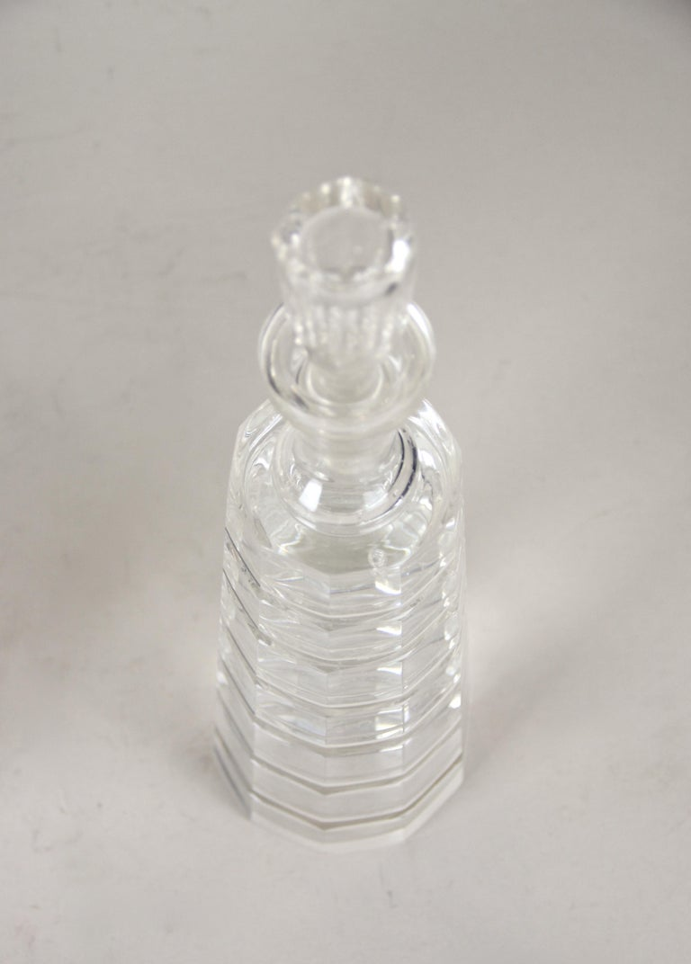 Silver Plated Three Glass Bottle Tantalus Lockable, Austria, circa 1890 6
