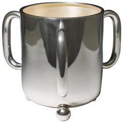 Silver Plated Wine Cooler, circa 1900