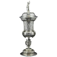 Silver Pokal 'Cup', Germany, Possibly 19th Century 'after 17th Century Models'