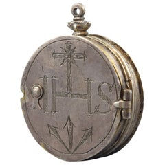 Silver Pyx, 17th Century