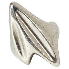 Silver Ring by Henning Koppel for Georg Jensen, Denmark, 1950s
