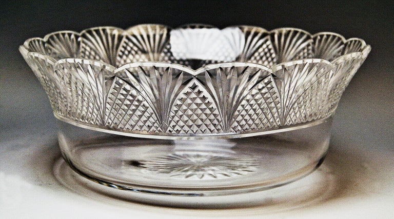 Silver Round Flower Bowl Centrepiece Heinrich Bleyer Chemnitz Germany circa 1890 For Sale 1