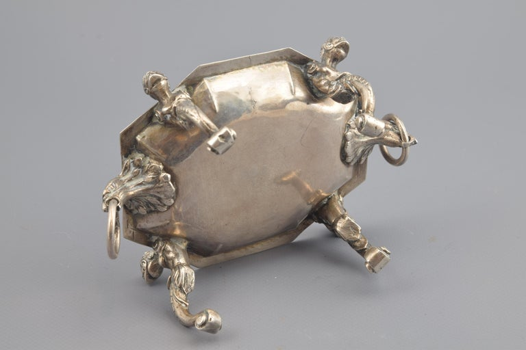 Silver Salt Cellar, Toledo, Spain, 16th Century In Good Condition For Sale In Madrid, ES